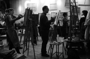 cours de peinture mercredi matin Paris