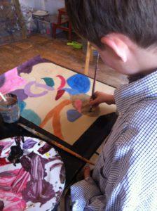 Cours De Peinture Dessin Papier Mache Film D Animation Enfants Ados